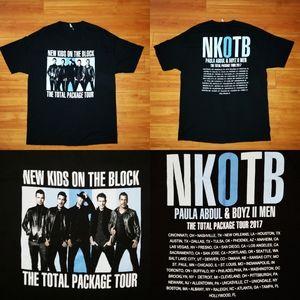NKOTB New Kids On The Block Concert Tour 2017 XL